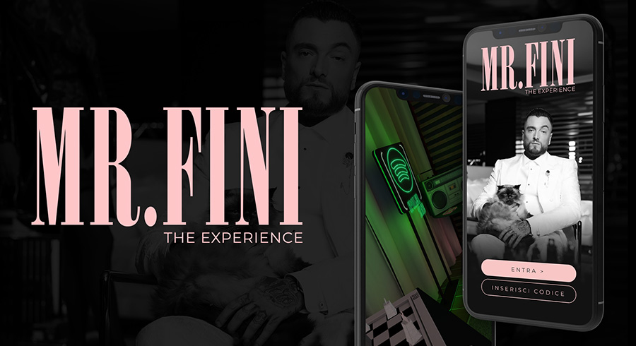 MR. FINI - The Experience | App AR