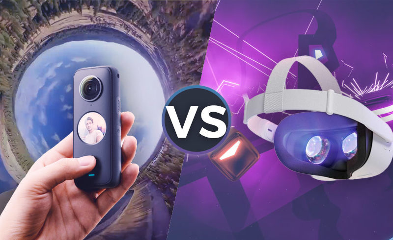 VR e Video a 360 gradi: le differenze